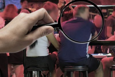 cheating husbands thailand, thailand private investigators with a magnifying glass